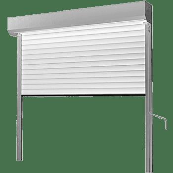 Brama garażowa roletowa - rolowana - zwijana