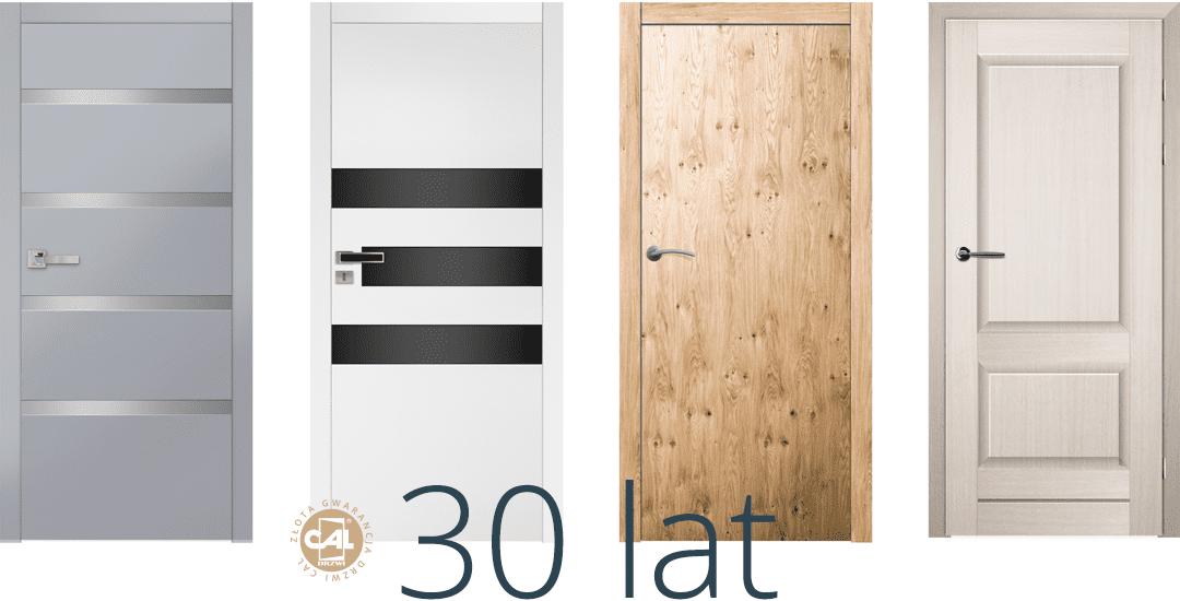 Drzwi drewniane zewnętrzne i wewnętrzne
