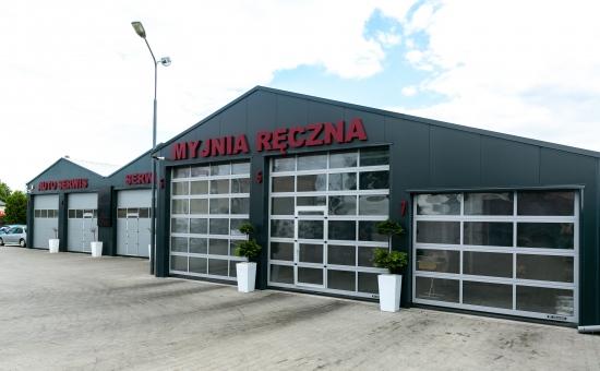 Myjnia ręczna - realizacja bramy garażowej Wrocław