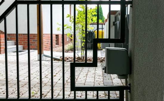 Ogrodzenie - brama automatyczna