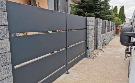 Posesyjne ogrodzenia - realizacja