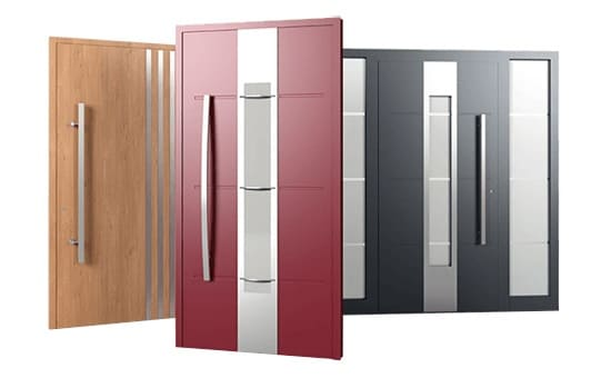 Aluminiowe drzwi