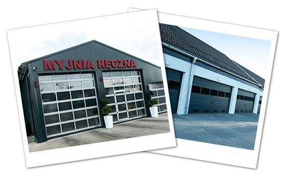 Realizacje bram garażowych Makpol - Wrocław